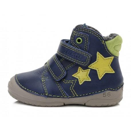 Mėlyni batai su pašiltinimu 19-24 d. 038253AU