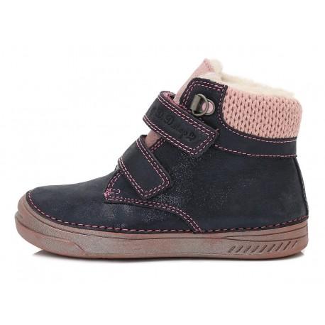 Tamsiai mėlyni batai su pašiltinimu 25-30 d.040423CM