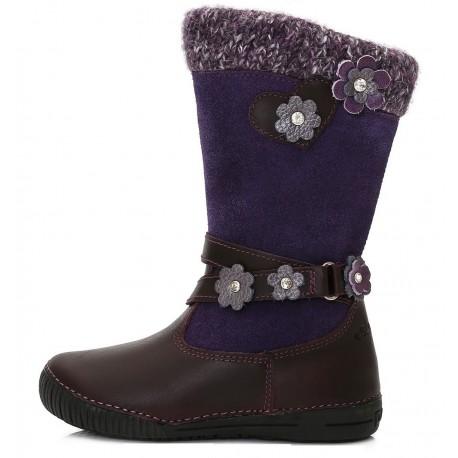 Violetiniai ilgaauliai batai su pašiltinimu 31-36 d. 036708L