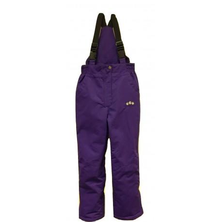 Violetinės kombinezoninės kelnės 110-134 cm. KALBORN KK10017