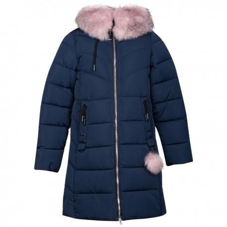 Mėlyna žieminė striukė-paltas Black&Red MSTR10025