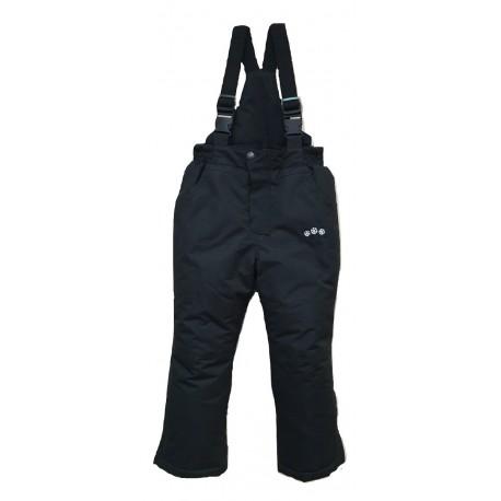 Juodos kombinezoninės kelnės 110-134 cm. KALBORN KK10018