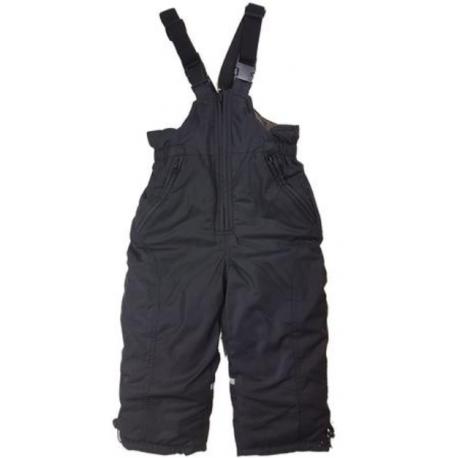 Juodos kombinezoninės kelnės 86-116 cm. KALBORN KK10019
