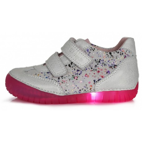 Balti LED batai 25-30 d. 0504M
