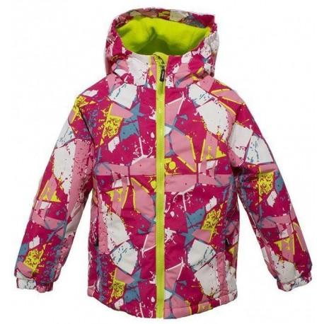Neperpučiama, nelaidi drėgmei striukė su pašiltinimu pavasariui-rudeniui mergaitei OKWAY MSTR10030