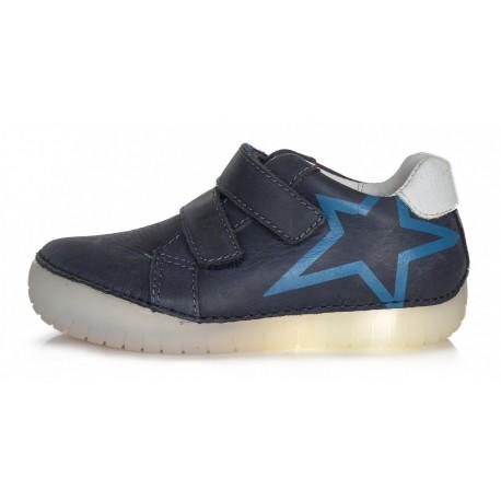 Tamsiai mėlyni LED batai 25-30 d. 0501AM