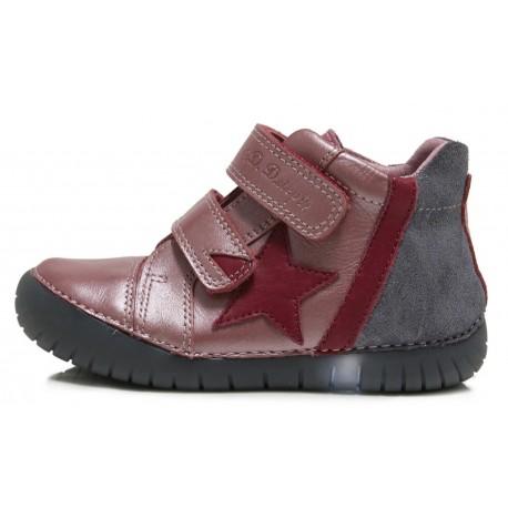 Rožiniai LED batai 31-36 d. 0507EL
