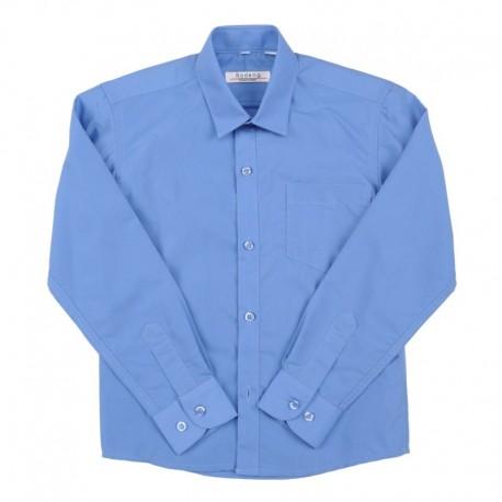 Mėlyni marškiniai ilgomis rankovėmis berniukui BMA10027