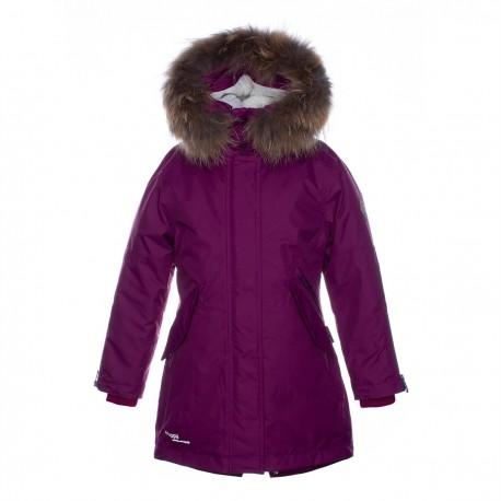 HUPPA rudens / žiemos prailginta striukė-paltas mergaitei VIVIAN 1