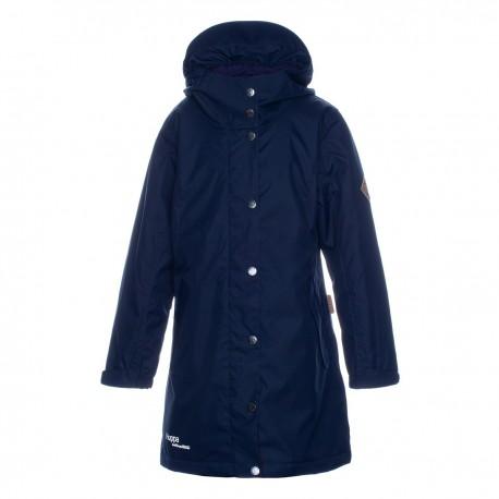 HUPPA rudens / žiemos prailginta striukė-paltas mergaitei JANELLE