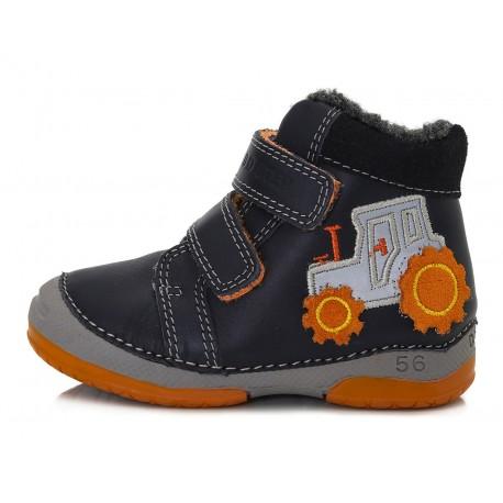 Tamsiai mėlyni batai su pašiltinimu 20-24 d.038263