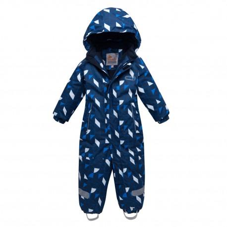 Vientisas mėlynas žieminis VALIANLY kombinezonas berniukui 8901