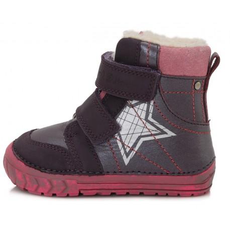 Violetiniai batai su pašiltinimu 20-24 d. 029312A