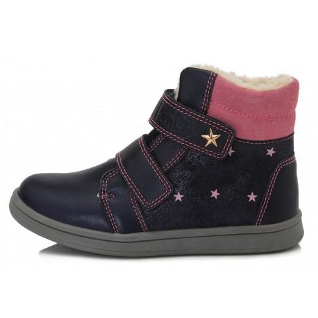 Tamsiai mėlyni batai su pašiltinimu 28-33 d. DA061667