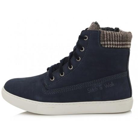 Tamsiai mėlyni batai su pašiltinimu 37-42 d.052-7A
