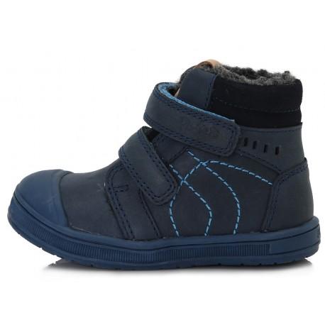 Tamsiai mėlyni batai su pašiltinimu 22-27 d. DA031376