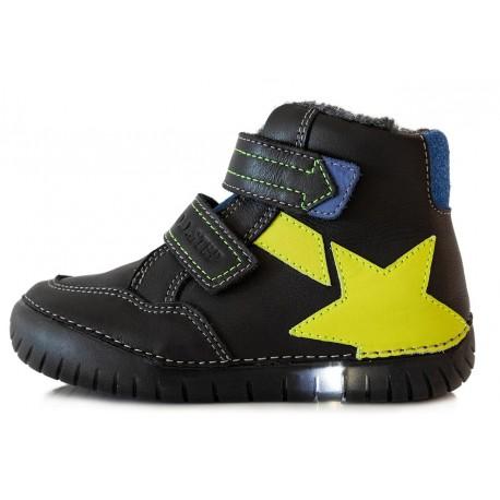 Juodi LED batai su pašiltinimu 31-36 d. 0509BL