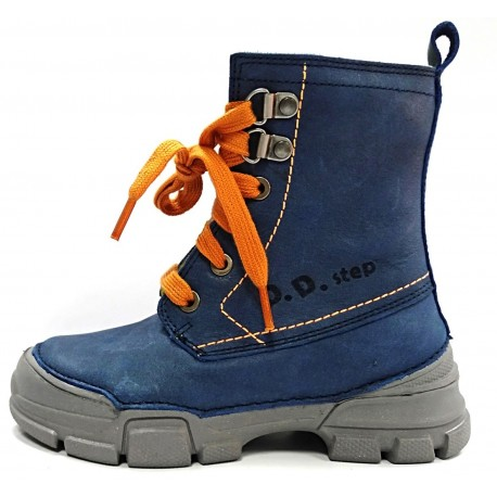 Mėlyni batai su pašiltinimu 25-30 d.0561AM
