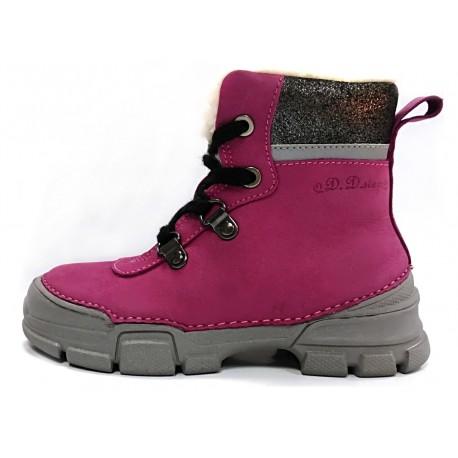 Rožiniai batai su pašiltinimu 31-36 d.0563BL