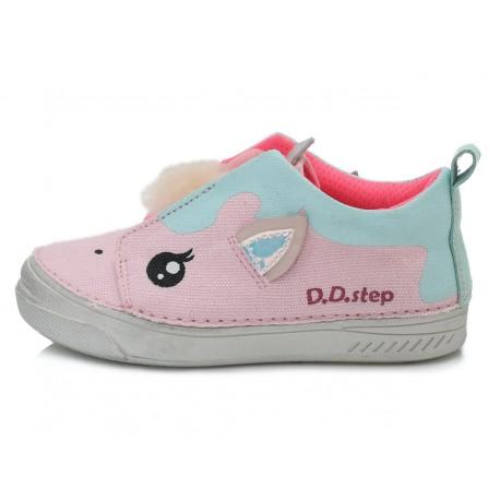 Rožiniai canvas batai 25-30 d. C040901M
