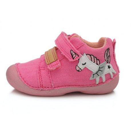 Rožiniai canvas batai 19-24 d. C015326
