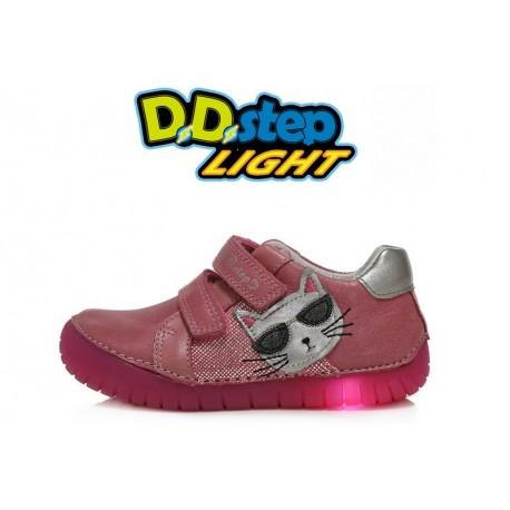 Rožiniai LED batai 31-36 d. 05017CL