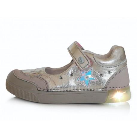 Sidabriniai LED batai 25-30 d. 06851BM