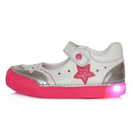 Sidabriniai LED batai 25-30 d. 06851M
