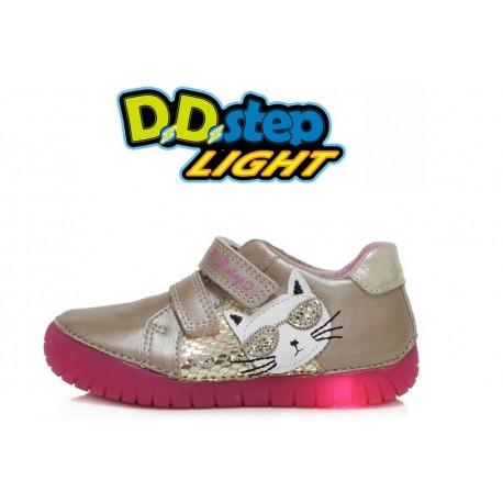 Kreminiai LED batai 31-36 d. 05017BL