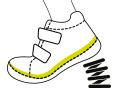 Išiimamas vidpadis Vidpadį galima išimti, todėl jie gali būti plaunami ar džiovinami. Vidpadžius, kurie tiesiogiai liečiasi su kojų padais, gaminame iš odos.