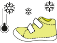 Vidpadis su supinatoriumi Vidpadžio viršutinė dalis yra pagaminta iš odos, apatinė - pagaminta iš lanksčios medžiagos EVA - RB, kuri suteiks geresnį komfortą. Rekomenduojama vaikams, turintiems problemų su netaisyklingu pėdos statymu ar keliais. Palaiko taisyklingą užkulnio poziciją net su 5 mm pakreipimu.